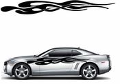 Racing Car Graphics pinstirpes Window Vinyl Car Wall Decal Sticker Stickers 158