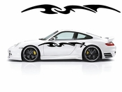 Racing Car Graphics pinstirpes Window Vinyl Car Wall Decal Sticker Stickers 163