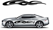 Racing Car Graphics pinstirpes Window Vinyl Car Wall Decal Sticker Stickers 164