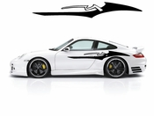Racing Car Graphics pinstirpes Window Vinyl Car Wall Decal Sticker Stickers 168