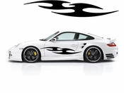 Racing Car Graphics pinstirpes Window Vinyl Car Wall Decal Sticker Stickers 171