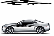 Racing Car Graphics pinstirpes Window Vinyl Car Wall Decal Sticker Stickers 175