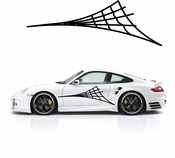 Racing Car Graphics pinstirpes Window Vinyl Car Wall Decal Sticker Stickers 182