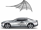 Racing Car Graphics pinstirpes Window Vinyl Car Wall Decal Sticker Stickers 186