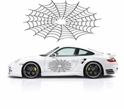 Racing Car Graphics pinstirpes Window Vinyl Car Wall Decal Sticker Stickers 188