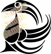 Tribal Pinstripes Car Graphics Window Vinyl Car Wall Decal Sticker Stickers MC56