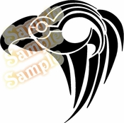 Tribal Pinstripes Car Graphics Window Vinyl Car Wall Decal Sticker Stickers MC58