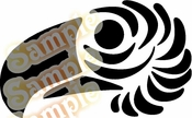 Tribal Pinstripes Car Graphics Window Vinyl Car Wall Decal Sticker Stickers MC62