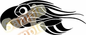 Tribal Pinstripes Car Graphics Window Vinyl Car Wall Decal Sticker Stickers MC66