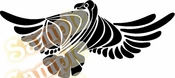 Tribal Pinstripes Car Graphics Window Vinyl Car Wall Decal Sticker Stickers MC68