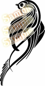 Tribal Pinstripes Car Graphics Window Vinyl Car Wall Decal Sticker Stickers MC69
