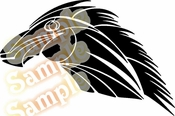 Tribal Pinstripes Car Graphics Window Vinyl Car Wall Decal Sticker Stickers MC85