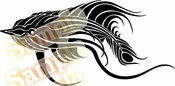 Tribal Pinstripes Car Graphics Window Vinyl Car Wall Decal Sticker Stickers MC89