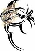 Tribal Pinstripes Car Graphics Window Vinyl Car Wall Decal Sticker Stickers MC98