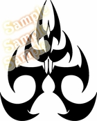 Tribal Pinstripes Car Graphics Window Vinyl Car Wall Decal Sticker Stickers MC107