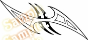 Tribal Pinstripes Car Graphics Window Vinyl Car Wall Decal Sticker Stickers MC120