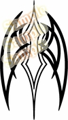 Tribal Pinstripes Car Graphics Window Vinyl Car Wall Decal Sticker Stickers MC128