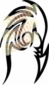 Tribal Pinstripes Car Graphics Window Vinyl Car Wall Decal Sticker Stickers MC131