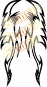 Tribal Pinstripes Car Graphics Window Vinyl Car Wall Decal Sticker Stickers MC139