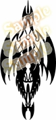 Tribal Pinstripes Car Graphics Window Vinyl Car Wall Decal Sticker Stickers MC141