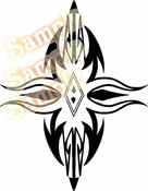 Tribal Pinstripes Car Graphics Window Vinyl Car Wall Decal Sticker Stickers MC145
