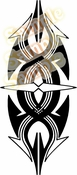 Tribal Pinstripes Car Graphics Window Vinyl Car Wall Decal Sticker Stickers MC165