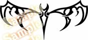 Tribal Pinstripes Car Graphics Window Vinyl Car Wall Decal Sticker Stickers MC172