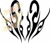 Tribal Pinstripes Car Graphics Window Vinyl Car Wall Decal Sticker Stickers MC189