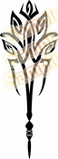 Tribal Pinstripes Car Graphics Window Vinyl Car Wall Decal Sticker Stickers MC214