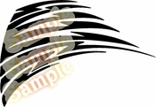 Tribal Pinstripes Car Graphics Window Vinyl Car Wall Decal Sticker Stickers MC265