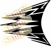 Tribal Pinstripes Car Graphics Window Vinyl Car Wall Decal Sticker Stickers MC267