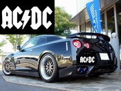 AC/DC Vinyl Decal Car Sticker