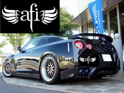 AFI Vinyl Decal Sticker