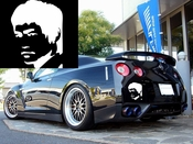 Bruce Lee Vinyl Decal Car Performance Stickers