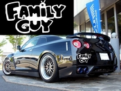 Family Guy Vinyl Decal Car Performance Stickers