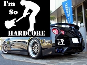 Im So Hardcore Vinyl Decal Car Performance Stickers