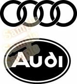 audi Vinyl Decal Car Performance Stickers