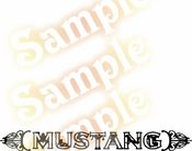 Ford MUSTANG SEXY Vinyl Decal Car Performance Stickers