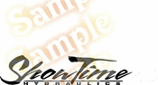 SHOWTIME Vinyl Decal Car Performance Stickers