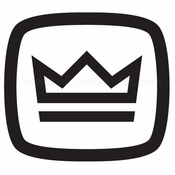 Crown Audio Car audio Vinyl Decal Stickers