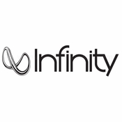 Infinity Car audio Vinyl Decal Stickers