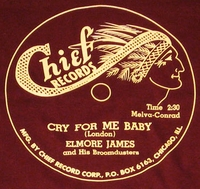 "Chief ""Cry For Me Baby"" (Elmore James)"