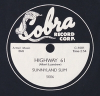 "Cobra ""Highway 61""(Sunnyland Slim)"
