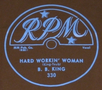 "RPM ""Hard Workin' Woman"" (B.B. King)"