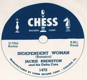 "Chess ""Independent Woman"" (Jackie Brenston)"