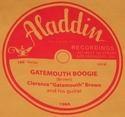 "Aladdin ""Gatemouth Boogie"" (Clarence Gatemouth Brown)"