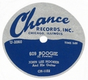 "Chance ""609 Boogie"" (John Lee Hooker)"