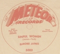 "Meteor ""Sinful Woman"" (Elmore James)"