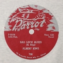 "Parrot ""Bad Luck Blues"" (Albert King)"