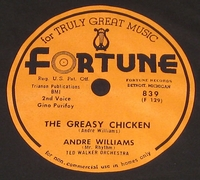 "Fortune ""The Greasy Chicken"" (Andre Williams)"